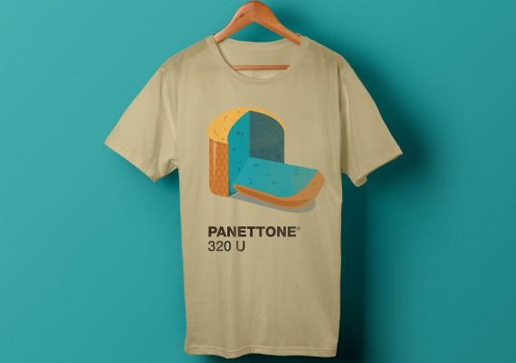 Camiseta Panettone 320U