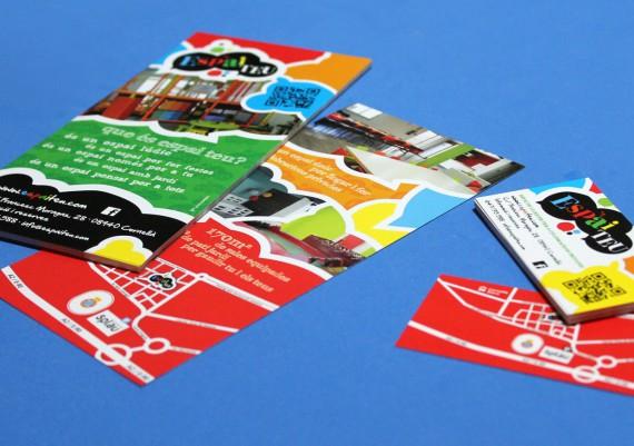flyers y tarjetas de visita