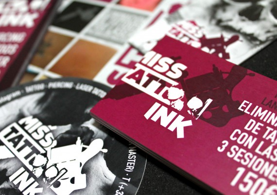 Material Corporativo Miss Tattoo Ink